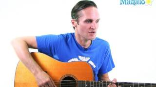 """How To Play """"Don't Be Cruel"""" By Elvis Presley On Guitar"""