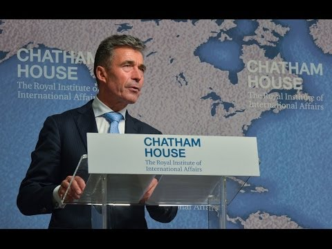 Future NATO - Speech NATO Secretary General at Chatham House, London, 19 June 2014