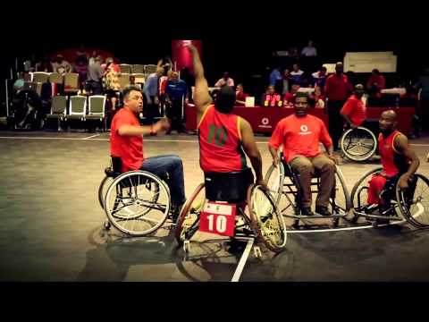 Vodacom Wheelchair Basketball Challenge 2014