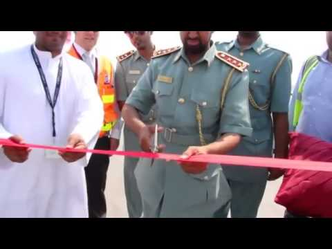Kizad: Opening of Sheikh Khalifa Highway 2012