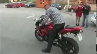Burro con moto