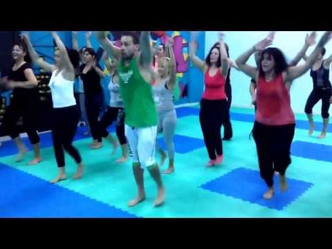 Masala Bhangra workout masterclass w/ Dennis and Tina thomsen Athlokinisi gym Amaliada