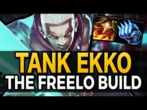 THE FREELO BUILD - Tank Ekko Guide - League of Legends