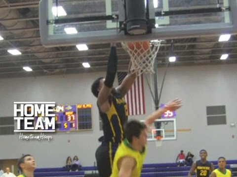 Ben Simmons Goes Baseline And Dunks On Defender!! Highlights from Montverde vs Tampa Christian