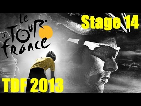Tour De France 2013 Stage 14 - Ft. Andy Schleck - Need Mountain Points!! (720p HD)
