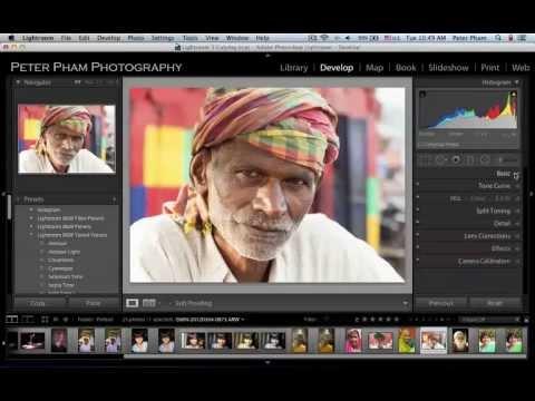 Học Lightroom - 048 Xử lý ảnh chân dung 5