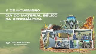 A Força Aérea Brasileira (FAB) lançou um vídeo em homenagem ao Dia do Material Bélico da Aeronáutica, comemorado nesta quarta-feira, dia 11 de novembro