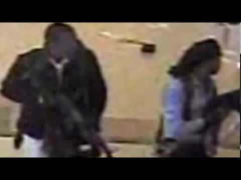 Kenya, Nairobi westgate Mall Attack: CCTV Footage of gunmens inside  the Kenya's Mall terror attack