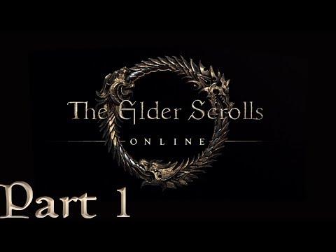 Elder Scrolls Online - HIGH ELF DRAGONKNIGHT - Part 1