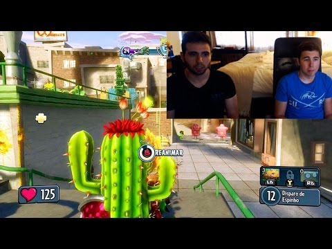 EL SNIPER!! | PLANTAS VS ZOMBIES: GARDEN WARFARE | c/ Vegetta (XBOX ONE Gameplay)
