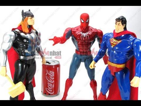 Phim siêu nhân đồ chơi người nhên siêu anh hùng hành đông tập 1