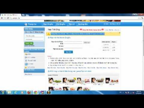 123Payzing.Com Huong dan nap Zing Xu qua SMS - Zing Pay - Pay.Zing.Vn