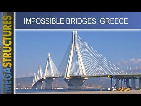 Cầu Rion-Antirion ở Hy Lạp