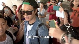 Lee Min ho Fans go Crazy when they meet him at LAX view on youtube.com tube online.