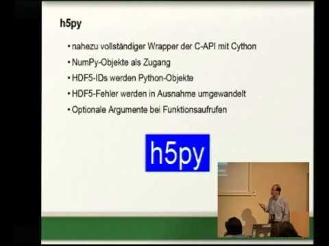 Image from Große Datenmengen schnell speichern mit Python und HDF5