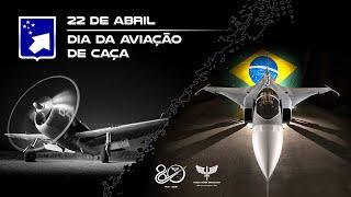 Homenagem ao Dia da Aviação de Caça, celebrado no dia 22 de abril. A data relembra o esforço e a audácia dos militares do Primeiro Grupo de Aviação de Caça (1º GAVCA) que, no auge da Segunda Guerra Mundial, a bordo dos caças P-47 Thunderbolt, cumpriam missões no norte da Itália.