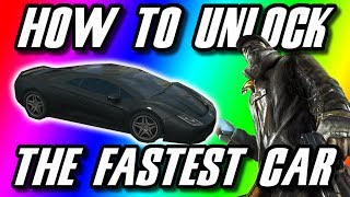 Watch Dogs : How To Unlock The Fastest Car In The Game
