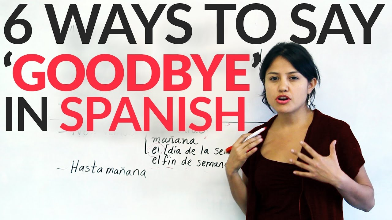 saying goodbye to coworkers IN SPANISH | just b.CAUSE