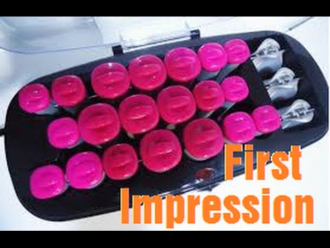 First Impressions: Conair Hot Rollers
