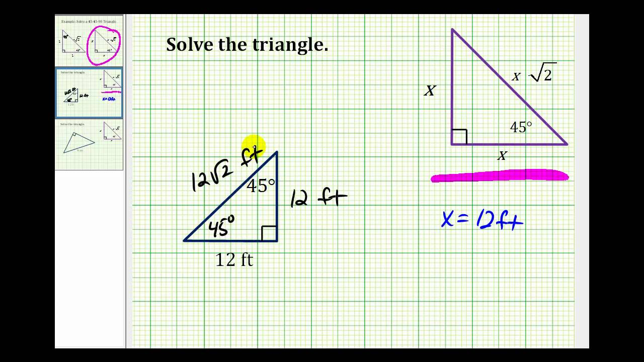 how to solve side length