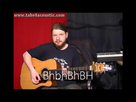 Cours de guitare : Comment retrouver la rythmique d'un morceau - Partie 3