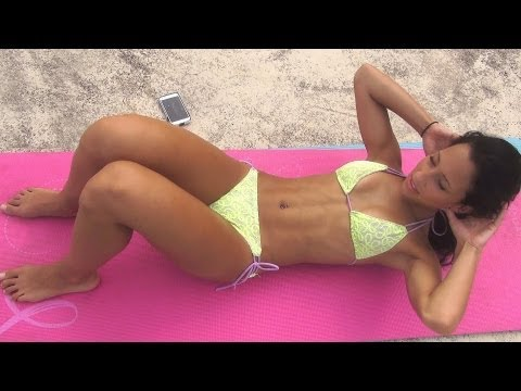 10 Min Ab Bikini Fat Burn Workout