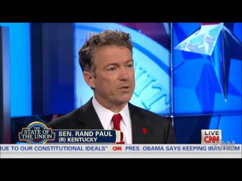 Rand Paul has never thought about the minimum wage, but he's not a big fan