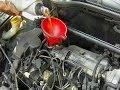 Cambio/sustituzione filtro olio & olio motore auto passo a passo