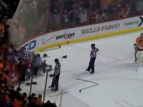Flyers Capitals LINE BRAWL 3/5/14