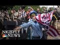 Fact-Checking Donald Trump's Claims About Charlottesville | NBC Nightly News