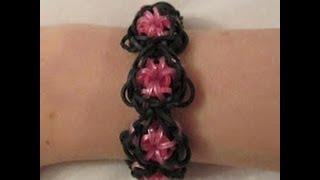 Rainbow Loom- How To Make A Goddess Bracelet (Original