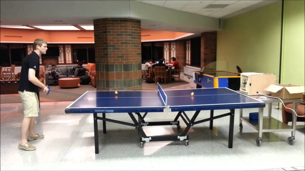 ping pong serving machine