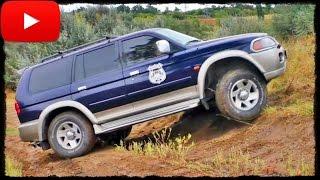 Mitsubishi Pajero Sport - Off-Road Control. Полный Привод 4х4 - Офф Роуд Видео.