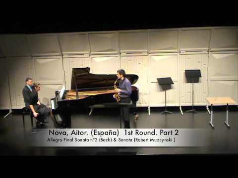 Nova, Aitor. (España) 1st Round. Part 2