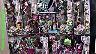 MONSTER HIGH FRIGHTS CAMERA ACTION BLACK CARPET HAUL!!!:D