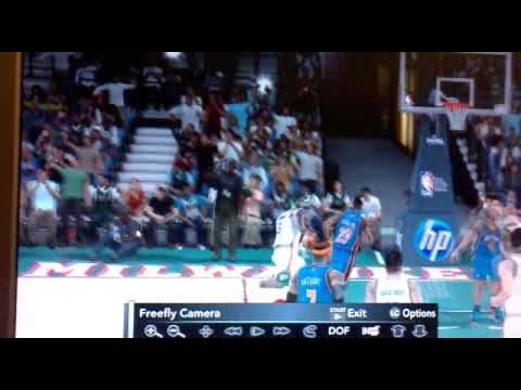 Stephen Jackson layup and foul