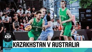 FIBA 3x3 Asia Cup among men's teams 2018 - Group stage: Kazakhstan - Australia