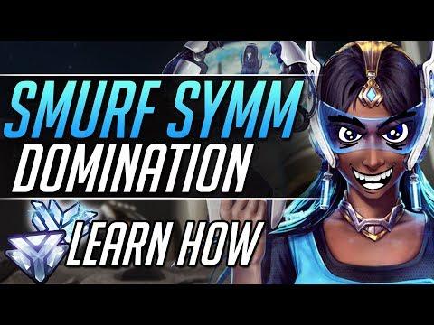 Smurf Symmetra - Symmetra Pro Tips Gameplay Guide | Overwatch Guide