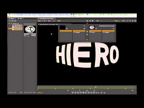 Using HIEROPLAYER with MODO