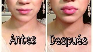 Labios carnosos sin maquillaje ni cirugía
