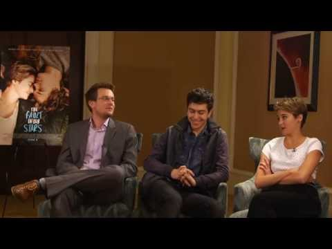 The Fault in Our Stars Interview: John Green, Shailene Woodley & Nat Wolff