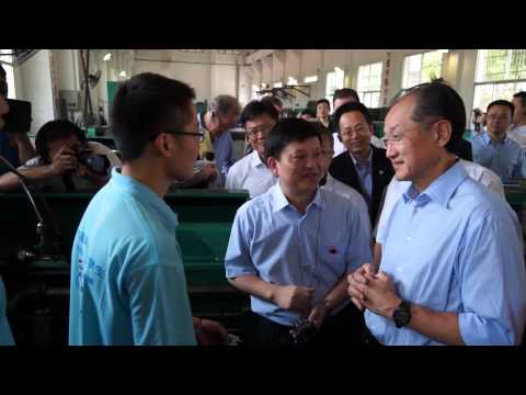 Jim Yong Kim: Education is a Good Investment in China