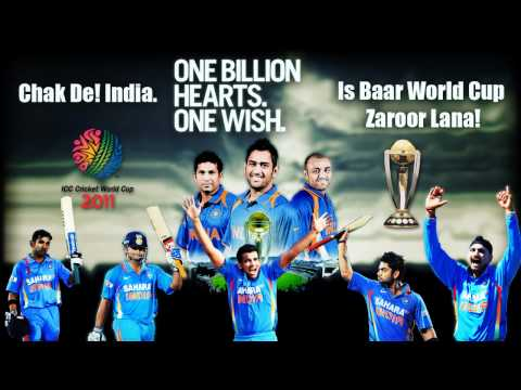 Chak De India + De Ghuma Ke(Remix) = &quot;Celebration&quot; India won World cup 2011 Championship