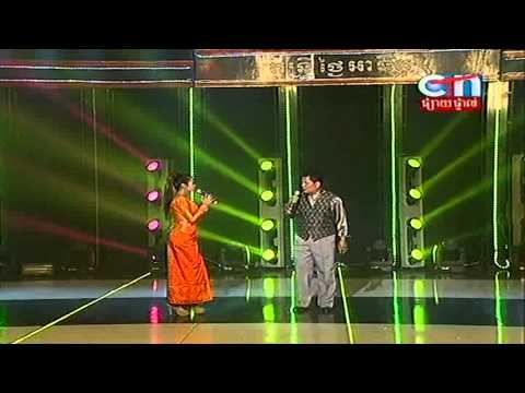 Ah Yai Prom Manh & Noun Sari (Yeay Yoy) at CTN TV 02 December 2012