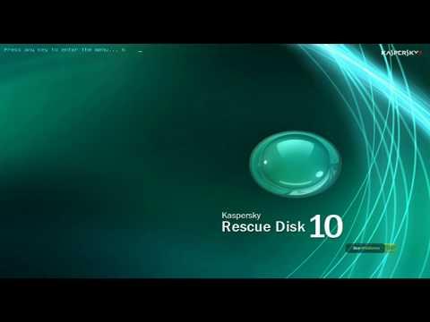 Jak korzystać z płyty ratunkowej Kaspersky Rescue Disk 10