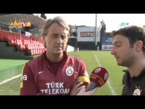 Roberto Mancini - Galatasaray'dan İstifa Etti.. (11.06.2014) ᴴᴰ