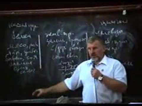 Жданов: Лекция о раздельном питании.