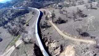 Tehachapi Loop Aerial View 2014