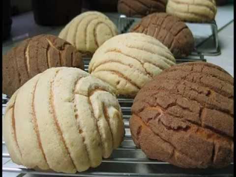 Aprenda como hacer rico pan dulce de mexico recetas - Como hacer conchas finas ...