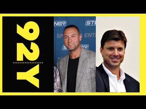 Derek Jeter and Tino Martinez with Brandon Steiner